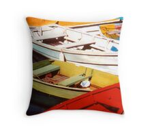 Harbor Gems Throw Pillow