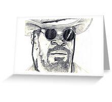 Django (Jamie Foxx) Greeting Card