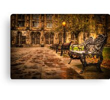 Glasgow University Quadrant Canvas Print