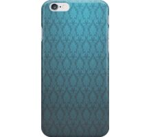 Dark and Light blue vintage glow wallpaper iphone ipad case cover iPhone Case/Skin