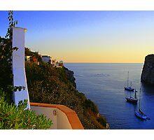 A Menorcan Sunset Photographic Print