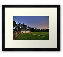 Sunset Monroeville Airport P.A Dawn of the Dead Location Framed Print