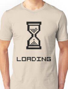 Loading Hourglass - dark text Unisex T-Shirt