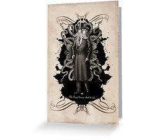 Mr Squid Greeting Card