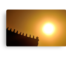 Guardians of the Forbidden City Canvas Print