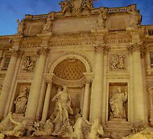 Trevi Fountain, Italy by MikeyK86
