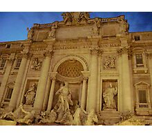 Trevi Fountain, Italy Photographic Print