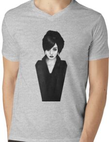 widow Mens V-Neck T-Shirt
