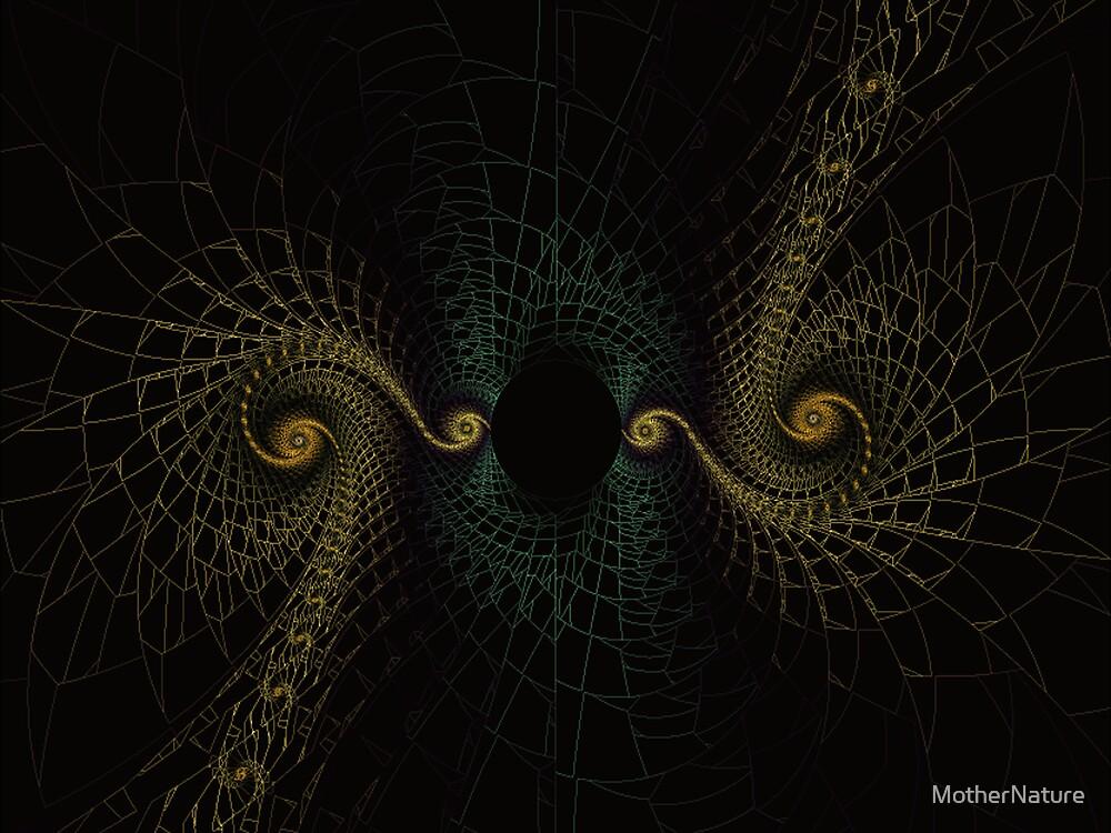 Golden Serpent Mask by MotherNature