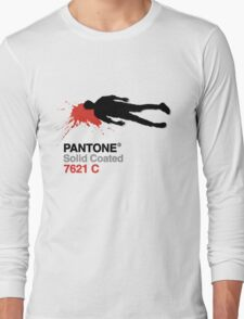 Pulp PANTONE &The Killed Men Long Sleeve T-Shirt