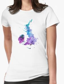 UK map in Watercolours T-Shirt