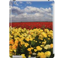 FIELD OF FLOWERS iPad Case/Skin