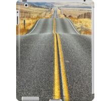 THE ROAD AHEAD iPad Case/Skin