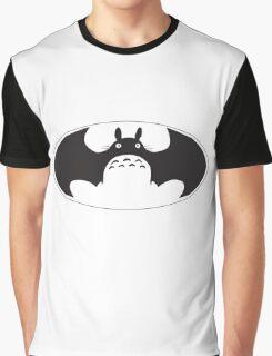 Totoro Batman Graphic T-Shirt
