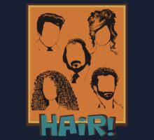 American Hustle Hair Hair Hair! pt. 2 Kids Tee