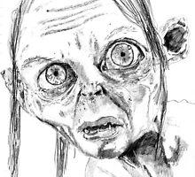 Smeagol/Gollum by Antony Stephenson