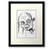 Smeagol/Gollum Framed Print
