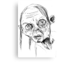 Smeagol/Gollum Canvas Print