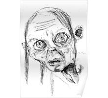Smeagol/Gollum Poster