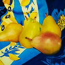 Pears In Provence by Donna Jill Witty