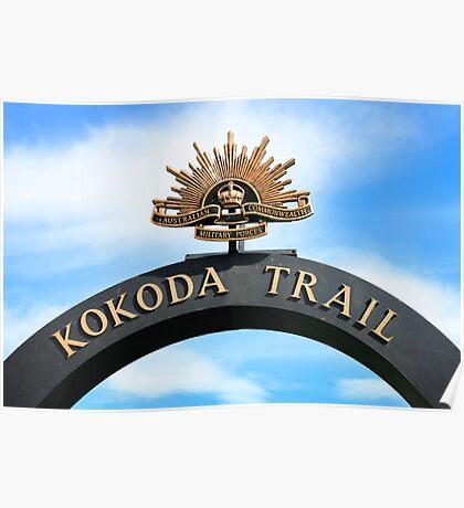 Kokoda Trail Arch Poster
