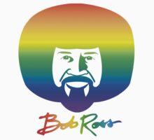 Bob Ross - Rainbow by epainter
