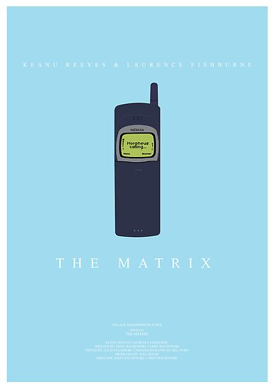 The Matrix Movie Poster by Nick Sexton
