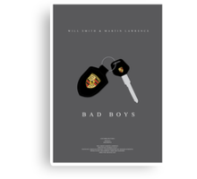 Bad Boys Movie Poster Canvas Print