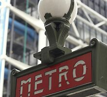 METRO SIGN by monkeydesigns4u