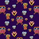 Owl Collage by Cherie Roe Dirksen