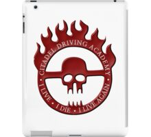 Citadel Driving Academy - Red iPad Case/Skin