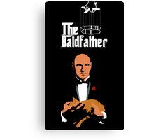 the bald father Canvas Print