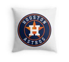 houston astros logo Throw Pillow