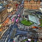 Edinburgh from Above by Chris Cherry
