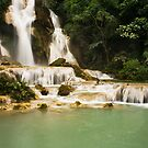 Kuang Si Waterfalls by Austin Dean