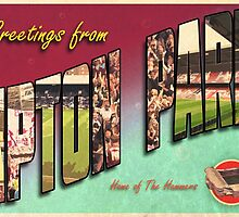Greetings from Upton Park (West Ham FC) by greetingsfrom