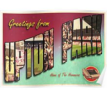 Greetings from Upton Park (West Ham FC) Poster