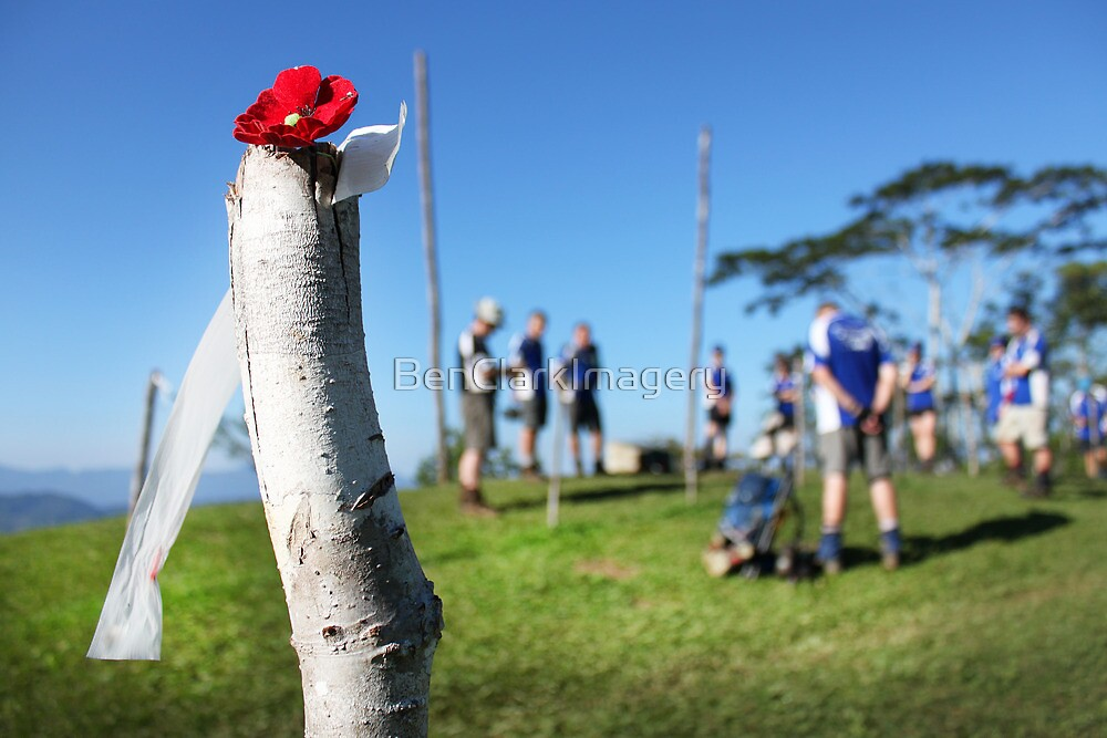 Brigade Hill memorial service by BenClarkImagery