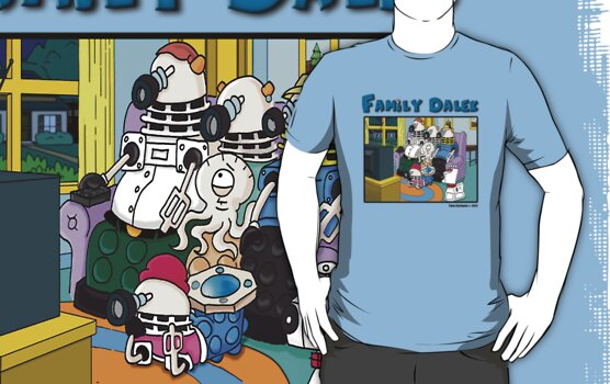 Family Dalek by ToneCartoons