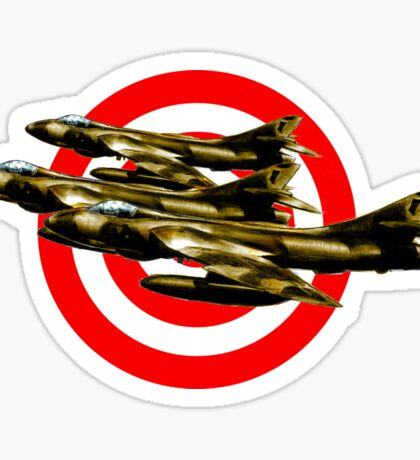 Hunter Fighter Jets Sticker