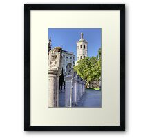 Valladolid Sculptures Framed Print