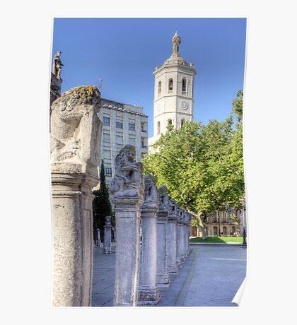 Valladolid Sculptures Poster