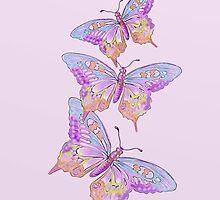 Butterflies  by David Michael  Schmidt