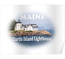 Curtis Island Lighthouse Poster