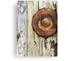 No Rest for the Rusty Canvas Print