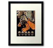 Leroy And The Five Dancing Skulls Of Doom Framed Print