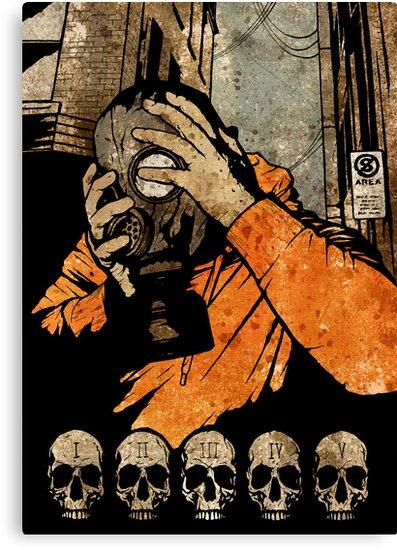 Leroy And The Five Dancing Skulls Of Doom by matthewdunnart