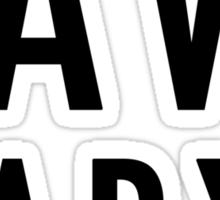 Save Daryl (black) Sticker