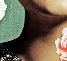 French Antique Fleur Sticker