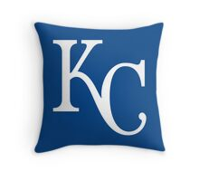 kc royals logo Throw Pillow
